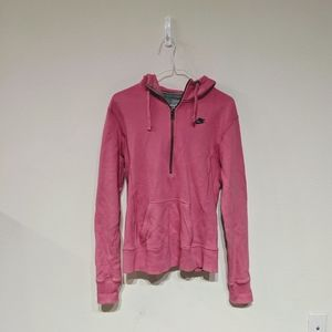 Nike hot pink hoodie size L